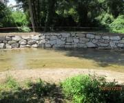 reparacion de daños en las margenes del Rio Louro-2
